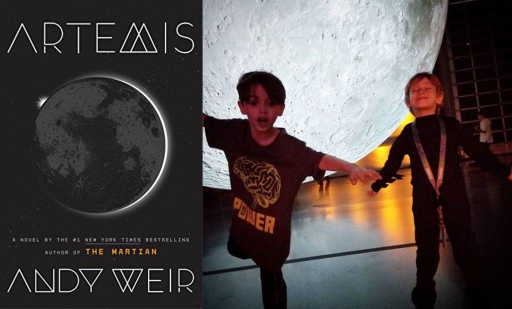 Artemis exhibit