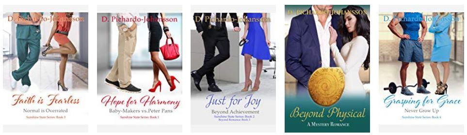 D Pichardo-Johansson books