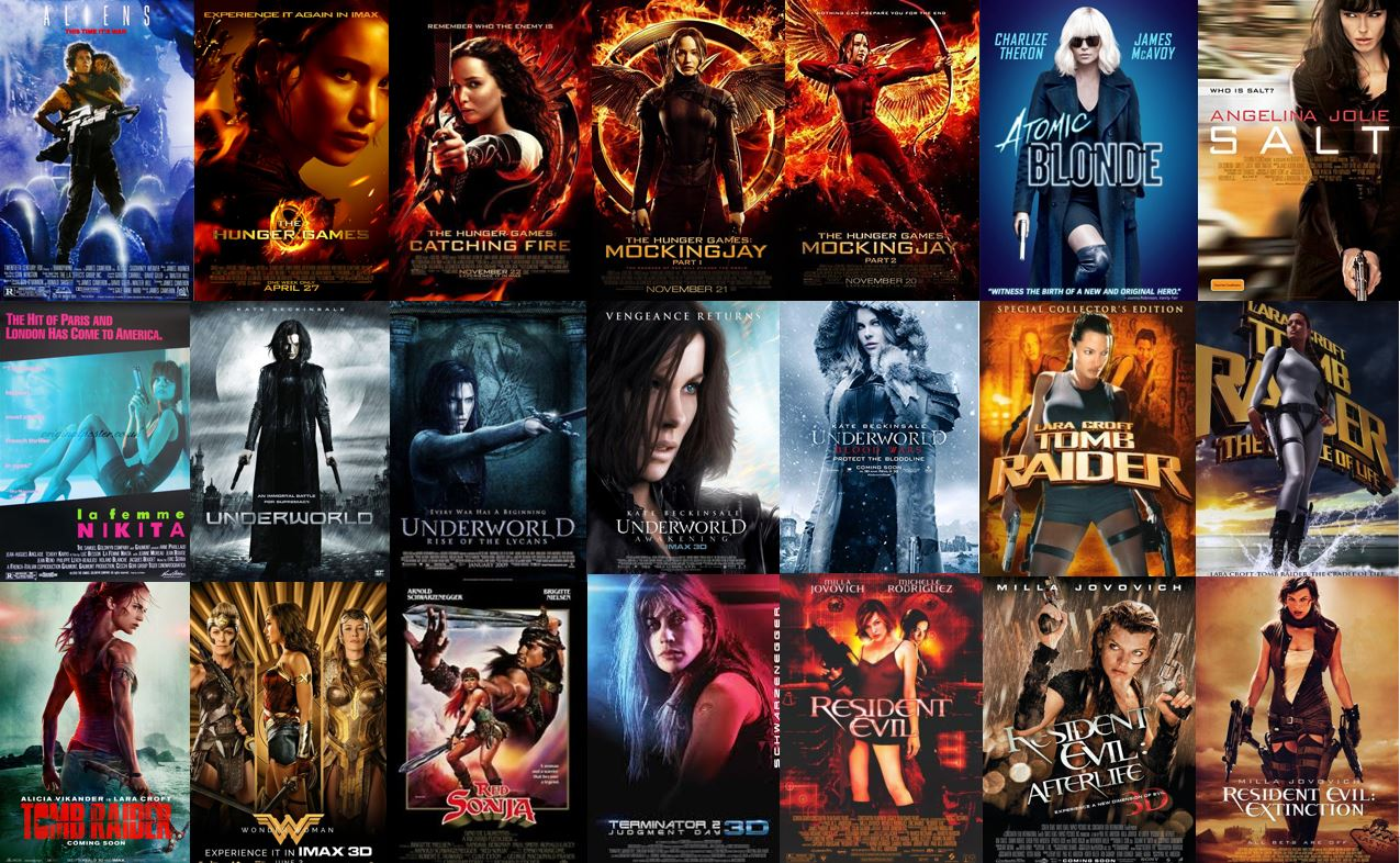 Female led action movies