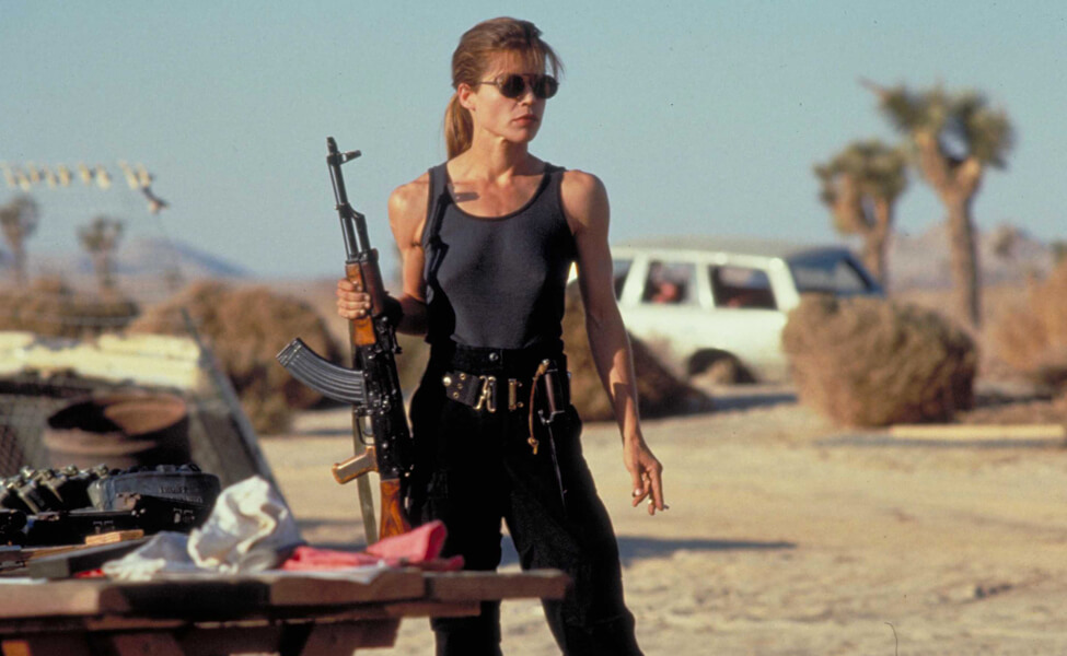 Sarah Connor - a strong female character