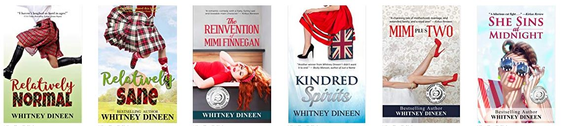 Whitney Dineen books