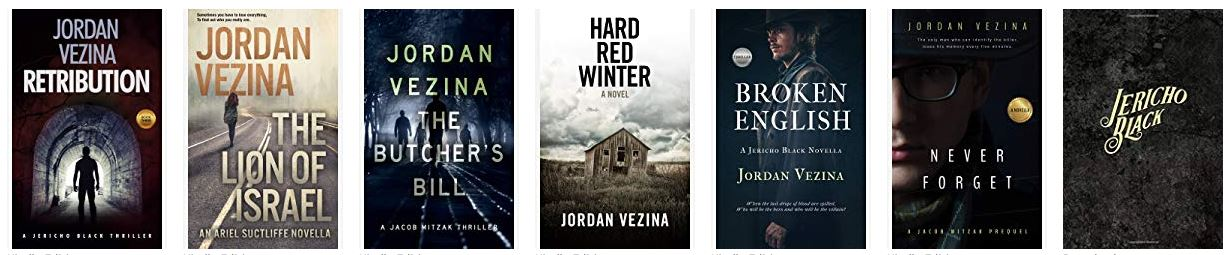 Jordan Vezina Books