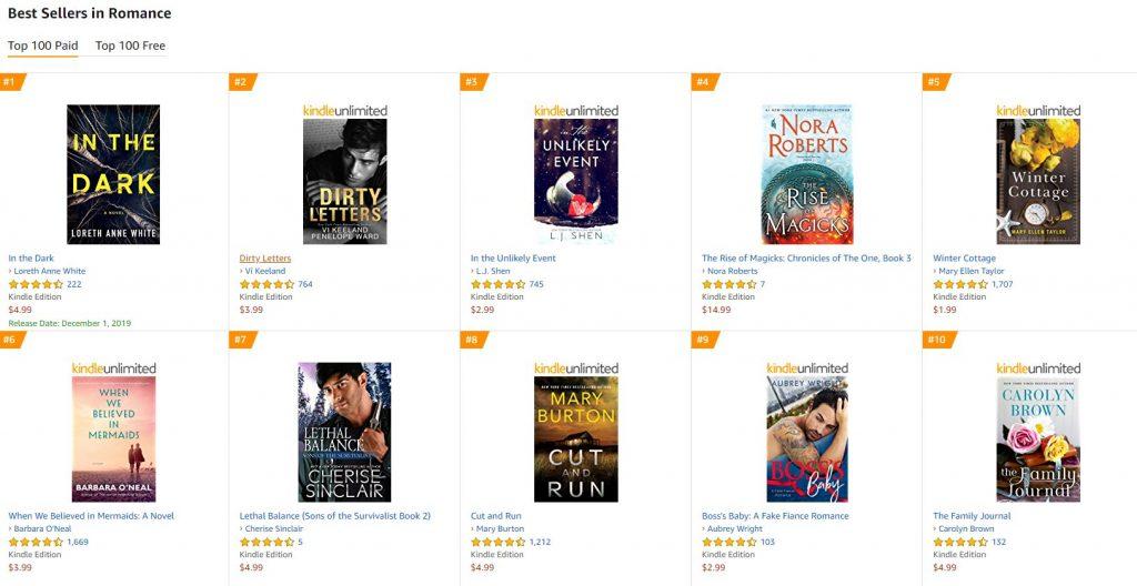 Best Sellers in Romance