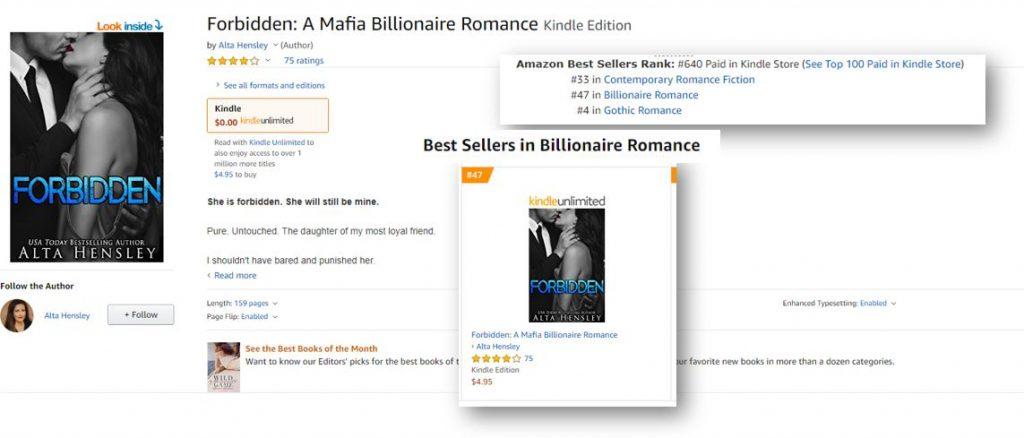 Forbidden: A Mafia Billionaire Romance