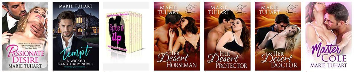 Marie Tuhart books