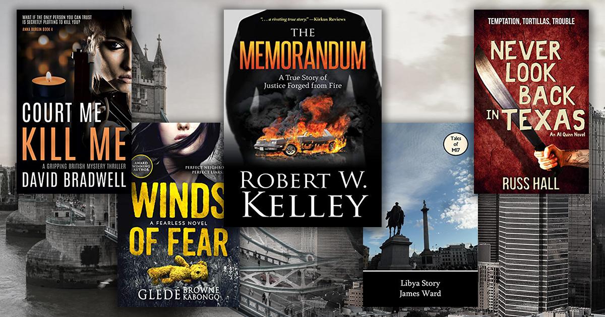 5 thriller novels