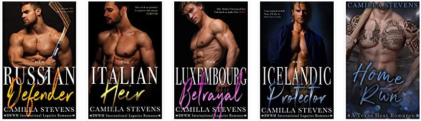 Camilla Stevens author