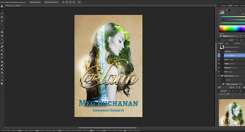 Affinity Photo for cover design