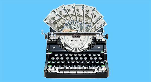 Money Typewriter