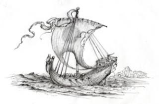 Roger Garland drawing