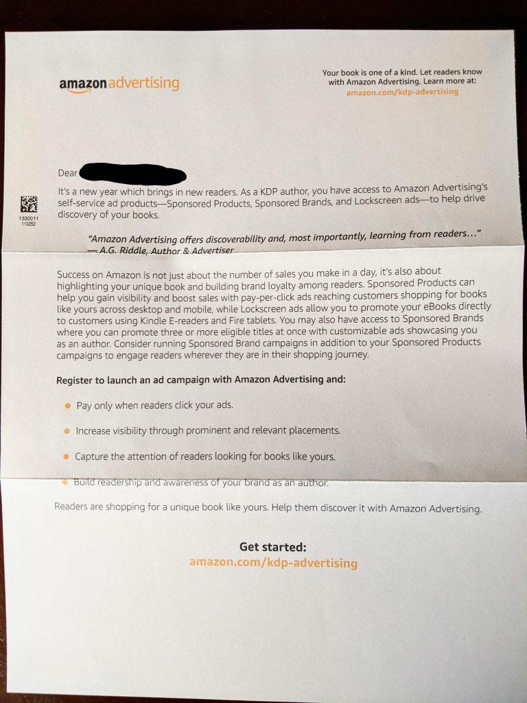 AMS Letter