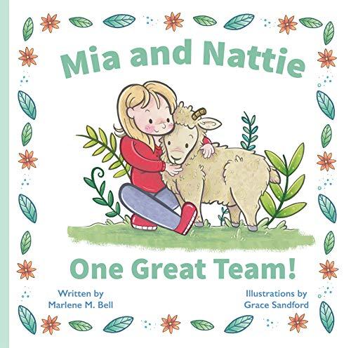 Mia and Nattie - children's picture book cover